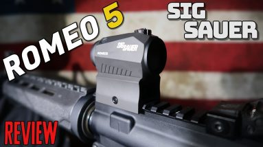 SIG SAUER ROMEO 5 RED DOT SCOPE: UNBOXING + REVIEW