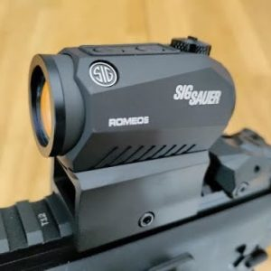 Sig Sauer ROMEO 5 Red Dot Sight Unboxing & Test