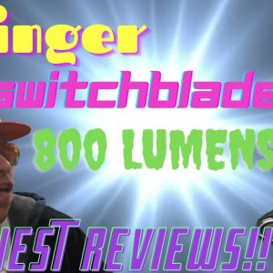 Streamlight Stinger Switchblade Light Review