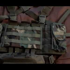 Attaching a Highland Tactical Fanny Pack to Condor Chestrig MOLLE Straps