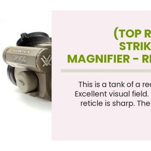 (Top Rated): Strikefire 2 Magnifier - Red Dot Sight On Pistol
