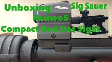 Unboxing   Sig Sauer Romeo5 Compact Red Dot Sight  