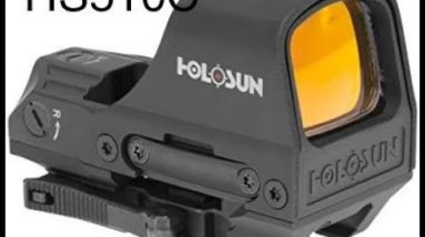 Unboxing the Holosun Red Dot Optic HS510C And Thoughts