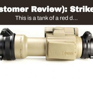 (Customer Review): Strikefire 2 With 3x Magnifier - Red Dot Sights For Ar-15