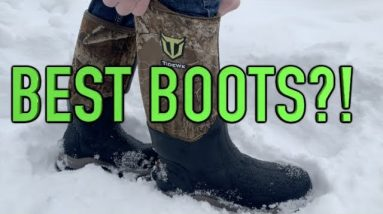 Best Hunting Boots on AMAZON!  Rubber Boot Review