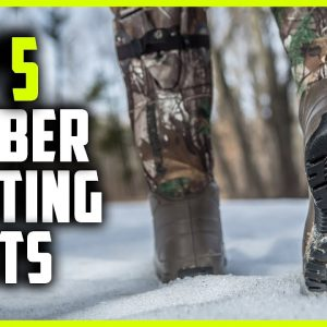 Best Rubber Hunting Boots | Top 5 Insulated Rubber Hunting Boots