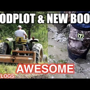 Carl's FoodPlot Planted & TideWe Boots For The Win