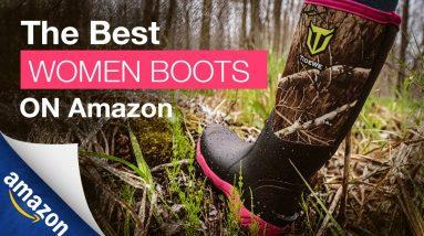 TideWe Women's Neoprene Boots|The Most Cost-Effective Women Hunting Adventure Boots on Amazon