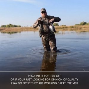 Tidewe Waders review/opinion. Inexpensive good waders for hunting or fishing!