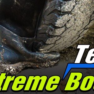 Extreme TideWe Muck Boot Testing | Run Over With TRUCK!!