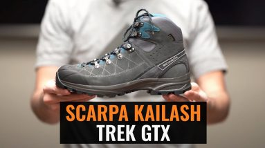 Flexible Lightweight Hunting Boot - Scarpa Kailash Trek GTX - Gear Review