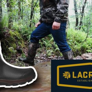 Lacrosse 4xAlpha Snake Proof Rubber Hunting Boot Review