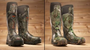 Best Rubber Hunting Boot 2021 - Top 5 Rubber Hunting Boots Reviews 2021 || gear ratio