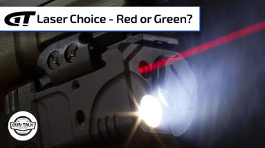 Red or Green - Which is the Best Laser?   Gun Talk Radio