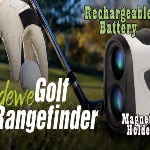 TIDEWE Golf Rangefinder with Magnetic Holder Rechargeable Battery