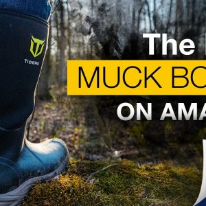 TideWe Muck Boots | Best AMAZON Hunting/Hiking/Camping/Working Boots