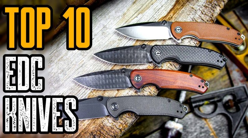 TOP 10 BEST EDC KNIVES ON AMAZON 2021