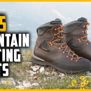Top 5 Best Mountain Hunting Boots in 2021