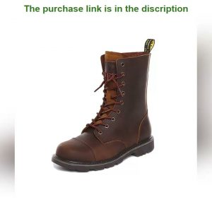 ✨Hiking shoes Men Hunting Boots Tactical shoes Desert Combat Ankle Waterproof sneakers Leather Snow