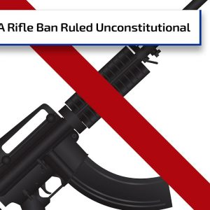 "California ""Assault Weapons"" Ban Ruled Unconstitutional | Gun Talk Radio"