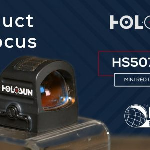 Holosun HS507C X2 Mini Red Dot Sight - OpticsPlanet.com