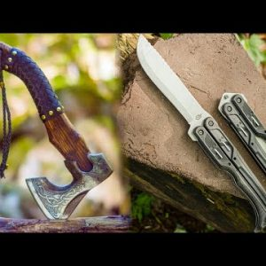 Top 5 Must Have Wilderness Survival Weapons & Gear