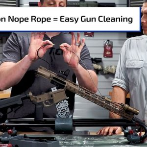 Easy Gun Cleaning with Tipton's Nope Rope | Guns & Gear