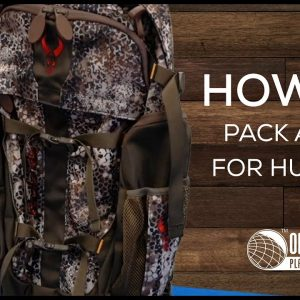 How to Pack a Bag for Hunting - OpticsPlanet.com