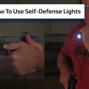 How To Use Self-Defense Lights | First Person Defender Bonus
