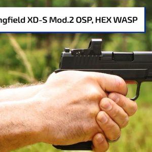 Optics Ready Springfield Armory XD-S Mod.2, WASP Red Dot | Guns & Gear