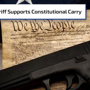 Sheriff Supports Constitutional Carry | Gun Talk Radio