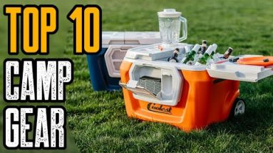 TOP 10 AMAZING CAMPING GEAR & GADGETS YOU MUST HAVE