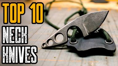 TOP 10 BEST SMALL NECK KNIVES FOR SELF DEFENSE 2021