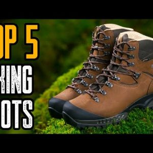 TOP 5 BEST BACKPACKING BOOTS 2021