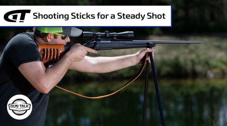 Better Shots with Shooting Sticks? | Gun Talk Radio