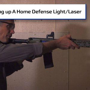 Setting Up a Home Defense Light & Laser Combo | First Person Defender Bonus