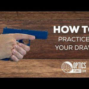How To Draw A Handgun From A Holster - OpticsPlanet.com