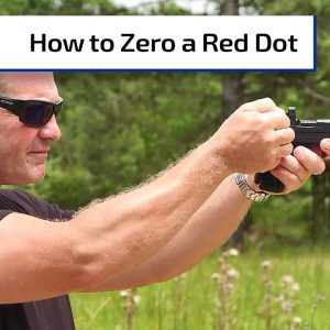 How to Zero a Red Dot | First Person Defender Bonus