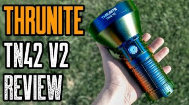 Most Powerful Spotlight | Thrunite TN42 V2 Flashlight Review