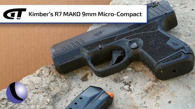 *NEW* Kimber's R7 MAKO 9mm High Cap SubCompact   Guns & Gear First Look