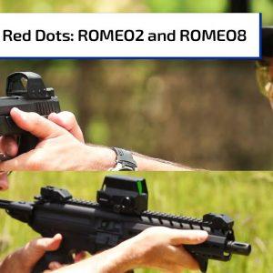 ROMEO2, ROMEO8 Red Dots from Sig Sauer | Guns & Gear