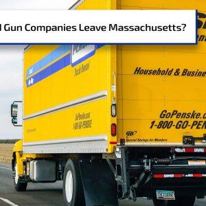 Should Gun Companies Move Out of Massachusetts? | Gun Talk Radio