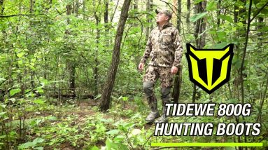 TideWe 800g Insulated Hunting Boots | Amazon's #1 Best Seller!!