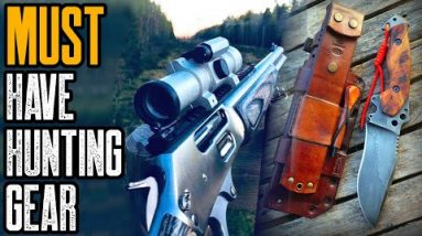 TOP 3 MUST HAVE HUNTING GEAR FOR MEN