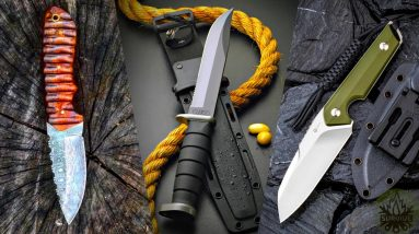 TOP 3 ULTIMATE FIXED BLADE KNIVES 2021