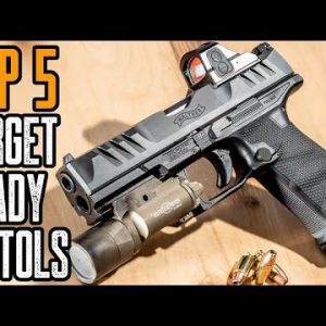 Top 5 Best Target Pistols for Competition Shooting