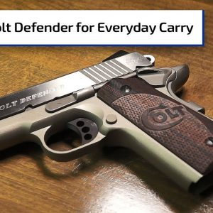 Colt Defender for Everyday Carry | Guns & Gear