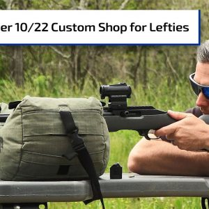 Lefties Rejoice: Ruger's Left-Handed 10/22 Competition Rifle | Guns & Gear