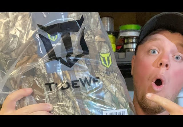 LIVE Giveaway!!! (TideWe Camouflage Clothing!)