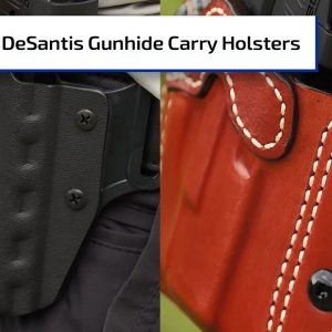 New Carry Options from DeSantis Gunhide Holsters | Guns & Gear